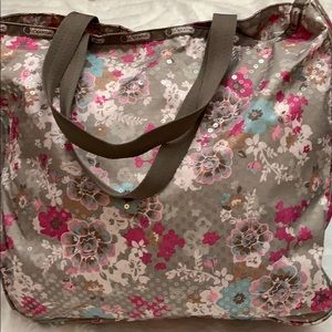 LeSportsac Embroidered Tote Bag
